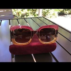 Authentic Gucci oversize sunglasses